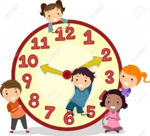 19109447-illustration-de-stickman-enfants-sur-une-grande-horloge-banque-dimages